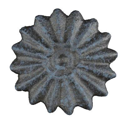Ona Drapery Hardware Starburst Rosette Shown in French Blue Search Results
