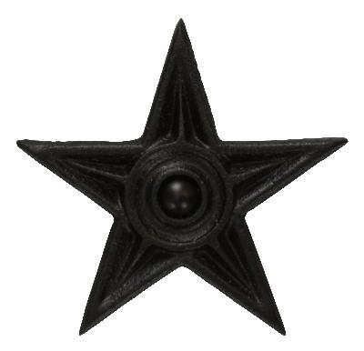 Ona Drapery Hardware Superstar Rosette Shown in Black Search Results