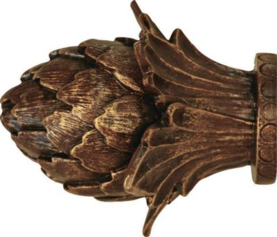Finestra Artichoke Finial Shown in Old World Gold Search Results