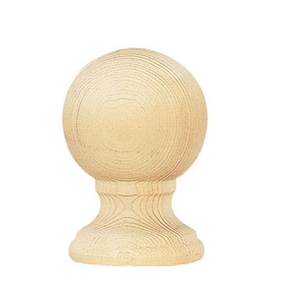 Vesta Naches Unfinished Finial  Budget Unfinished Wood Curtain Rods