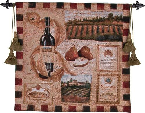 Fine Art Tapestries From the Wineland I  Search Results