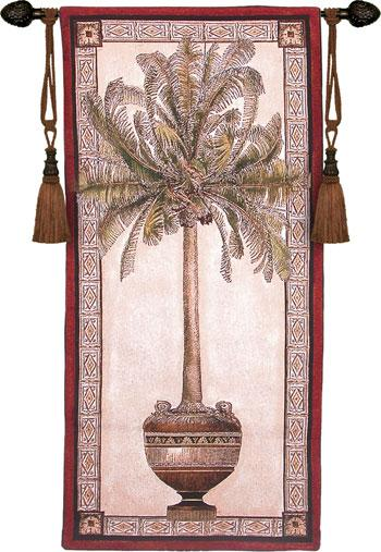 Fine Art Tapestries Old World Palm I  Tropical Tapestry