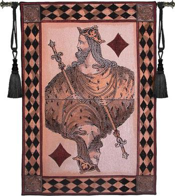 Fine Art Tapestries King of Diamonds  Search Results