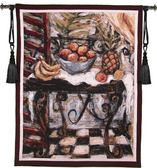 Fine Art Tapestries Tropical Table  Search Results