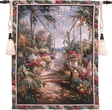 Fine Art Tapestries Tropical Breezeway  Tropical Tapestry