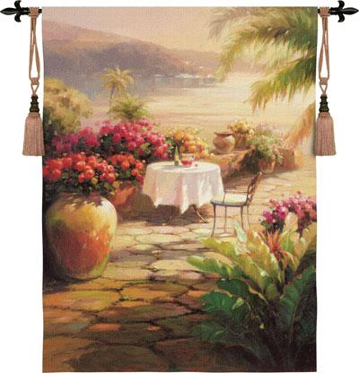 Fine Art Tapestries Courtyard View II  Search Results