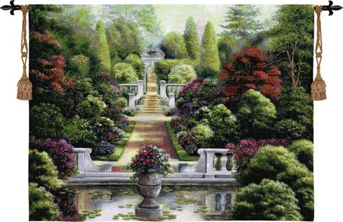 Fine Art Tapestries Rose Garden I  Search Results