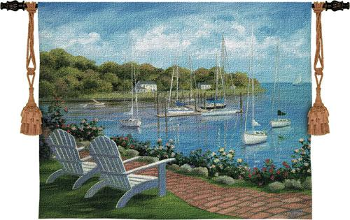 Fine Art Tapestries Harborside Relections  Search Results