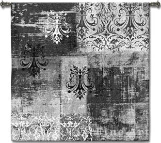 Fine Art Tapestries Abstract Damask Brushed Square Wall Tapestry  Search Results
