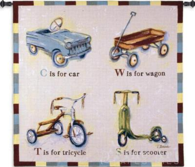 Fine Art Tapestries Car Wagon Tricycle Scooter Wall Tapestry  Search Results
