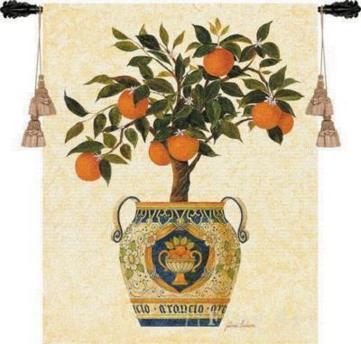 Fine Art Tapestries Italian Orange Tree Wall Tapestry  Search Results