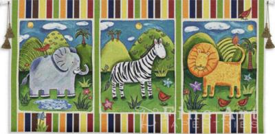 Fine Art Tapestries On Safari Wall Tapestry  Search Results