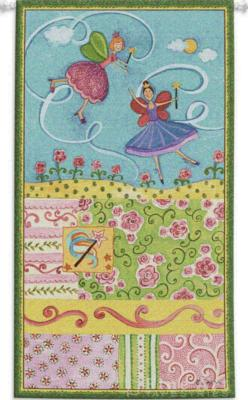 Fine Art Tapestries Patchwork Fairy II Wall Tapestry  Search Results