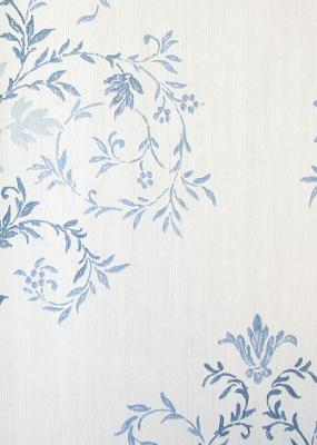 Blue Mountain Wallcovering BC1583873 SWEDISH DAMASK  Flower Wallpaper
