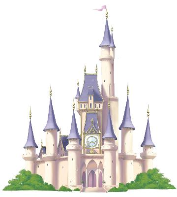 Blue Mountain Wallcovering Princess Castle - Mini Mural  Search Results