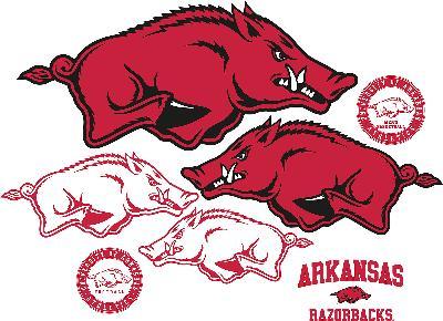Brewster Wallcovering Arkansas Razorbacks Logo Fathead Jr  Search Results