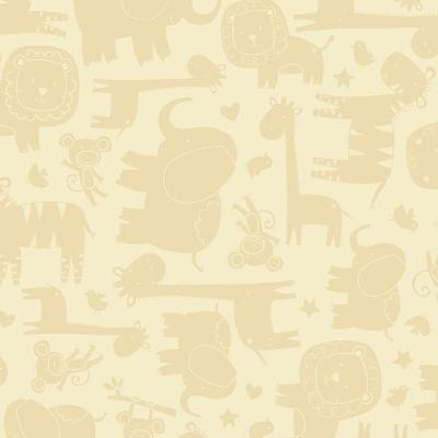 York Wallcovering Baby Safari Sidewall                               Beiges               Search Results