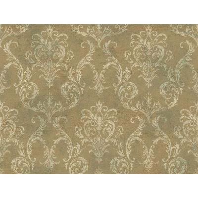York Wallcovering DELIA DAMASK                   Gold Metallic Search Results