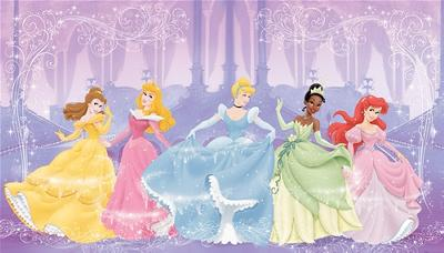 York Wallcovering Disney Perfect Princess Wall Mural  Search Results