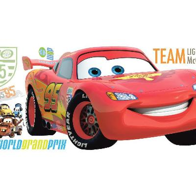 York Wallcovering Cars 2 Peel & Stick Giant Wall Decal Red Search Results