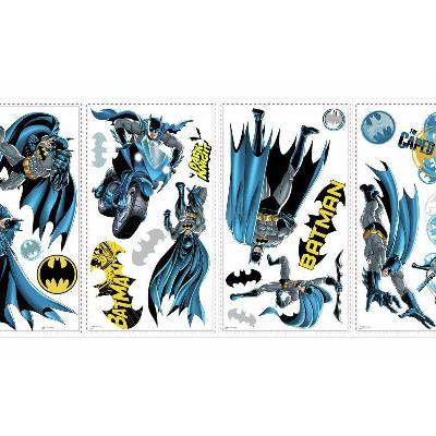 York Wallcovering Batman Bold Justice Peel & Stick Wall Decals Blue RoomMates