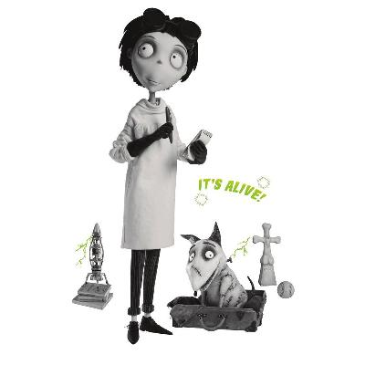 York Wallcovering Frankenweenie Giant Peel & Stick Wall Decals Black Search Results