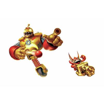 York Wallcovering Skylanders Giants Bouncer & Trigger Happy Peel and Stick Giant Wall Decals Gold/Red Search Results