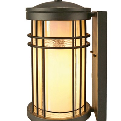 Dale Tiffany Dijon Outdoor Tiffany Wall Sconce Golden Black Tiffany Wall Sconces