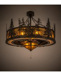 Tall Pines W Fan Light Chandel-Air by