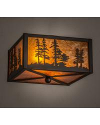 Tall Pines Flushmount by