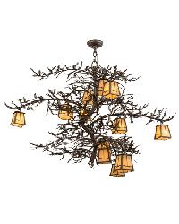 Pine Branch Valley View 12 LT Chandelier by
