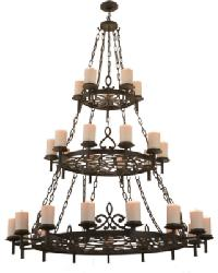 Newcastle 30 LT Chandelier by