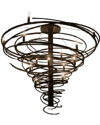 Cyclone 14 LT Chandelier by