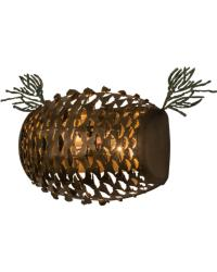 Stoneycreek Pinecone Wall Sconce by