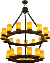 Noziroh Ring 27 LT Two Tier Chandelier by