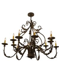 French Elegance 12 LT Chandelier by