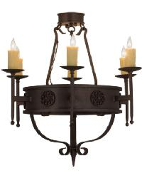 Calandra 6 LT Chandelier by
