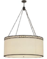 Cilindro Circle X Textrene Pendant by
