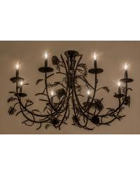 Pinecone 8 LT Chandelier by