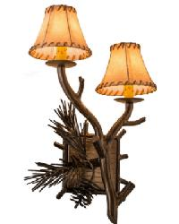 Lone Pine 2 LT Right Wall Sconce by