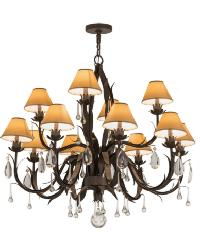 Slenderleaf 12 LT Chandelier by