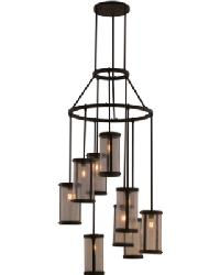 Cartier 9 LT Chandelier by