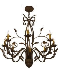 Bordeaux 8 LT Chandelier by