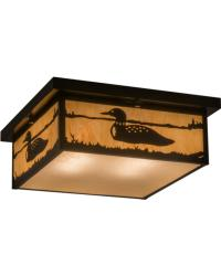 Hyde Park Loon Flushmount by