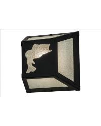 Leaping Bass Wall Sconce by