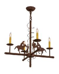 Cowboy 4 LT Chandelier by