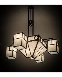 Mission Chic 4 LT Chandelier by