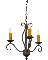 Sienna 3 LT Chandelier by