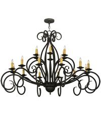 Sienna 18 LT Two Tier Chandelier by