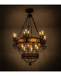 Isabo 24 LT Two Tier Chandelier by
